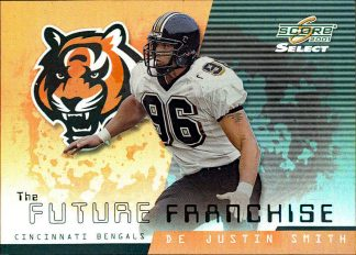 Peter Warrick Justin Smith 2001 Select Future Franchise #FF2 /550