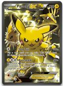 Pikachu EX #XY124 Holo Rare Red & Blue Collection Black Star Promo