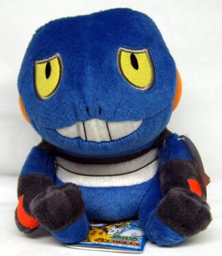 2007 Pokemon Japanese Banpresto 6in Croagunk Plush