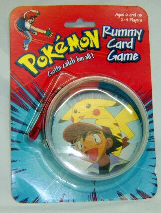 POKEMON PIKACHU GOTTA CATCH 'EM ALL Vintage RUMMY CARD GAME