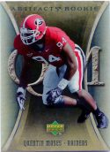 Quentin Moses 2007 Artifacts Rookie #191 Football Card