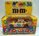 M&M's Racing Champions #36 1:64 Scale Diecast Replica