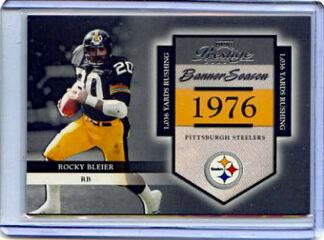Rocky Bleier 2002 Playoff Prestige Banner Season #BS33 /1976