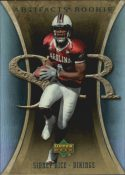 Sidney Rice 2007 Artifacts Rookie #194 Football Card