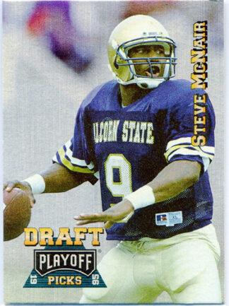 Steve McNair 1995 Playoff Prime Football Card #182 Rookie Card
