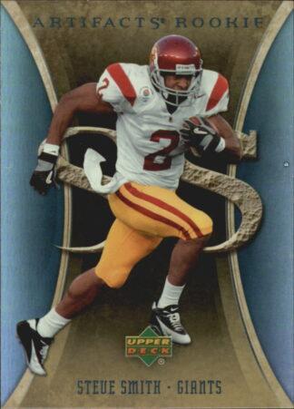 Steve Smith 2007 Artifacts Rookie #195 Football Card
