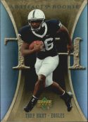 Tony Hunt 2007 Artifacts Rookie #197 Football Card