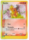 Torchic #008 Reverse Holo Nintendo Black Star Promo Pokemon Card