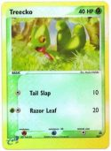 Treecko #003 Reverse Holo Nintendo Black Star Promo Pokemon Card