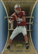 Trent Edwards 2007 Artifacts Rookie #149 Football Card