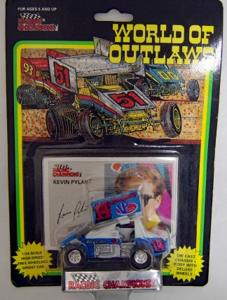 Kevin Pylant Racing Champions 1993 WORLD OF OUTLAWS Sprint Car 1:64 Diecast #14