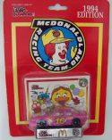 RACING CHAMPIONS 1994 McDONALDLAND RACING TEAM BIRDIE'S T-BIRD #16