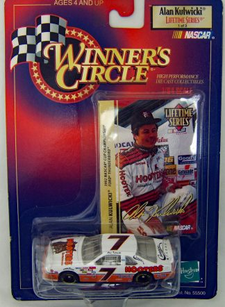 ALAN KULWICKI Winners Circle 1998 Lifetime Series 1:64 Scale Hooters #7
