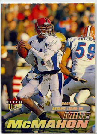 Mike McMahon 2001 Fleer Ultra Rookie Card #258 /2499