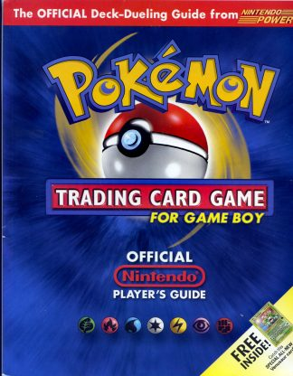 Pokemon Official Nintendo Player's Guide For Game Boy With Venusaur #13 Promo Unopened